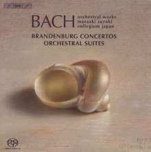 Johann Sebastian Bach (1685-1750): Brandenburgische Konzerte Nr.1-6, 3 CDs