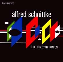 Alfred Schnittke (1934-1998): Symphonien Nr.0-9, 6 CDs
