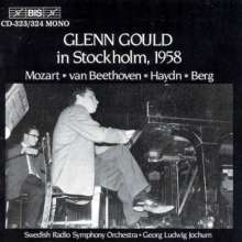 Glenn Gould in Stockholm 1958, 2 CDs