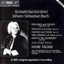 Johann Sebastian Bach (1685-1750): Sämtliche Orgelwerke Vol.6, 2 CDs