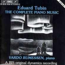 Eduard Tubin (1905-1982): Sämtliche Klavierwerke, 3 CDs