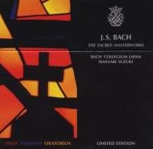 Johann Sebastian Bach (1685-1750): Die großen geistlichen Werke (BIS-Edition/Masaaki Suzuki), 10 CDs