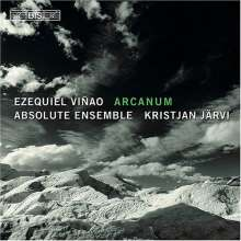 Ezequiel Vinao (geb. 1960): Arcanum für Sopran & Kammerensemble, SACD