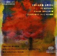 Edvard Grieg (1843-1907): Symphonie c-moll, SACD