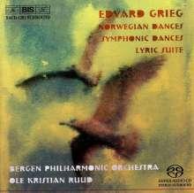 Edvard Grieg (1843-1907): Symphonische Tänze op.64, SACD