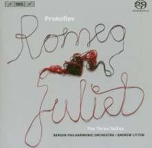 Serge Prokofieff (1891-1953): Romeo & Julia-Ballettmusik op.64a, SACD
