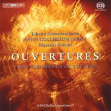 Johann Sebastian Bach (1685-1750): Orchestersuiten Nr.1-4, 2 SACDs