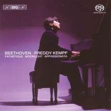 Ludwig van Beethoven (1770-1827): Klaviersonaten Nr.8,14,23, SACD