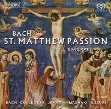 Johann Sebastian Bach (1685-1750): Matthäus-Passion BWV 244 (Ausz.), SACD