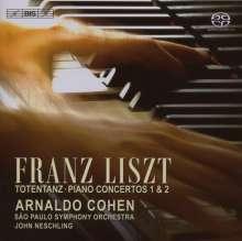 Franz Liszt (1811-1886): Klavierkonzerte Nr.1 & 2, SACD