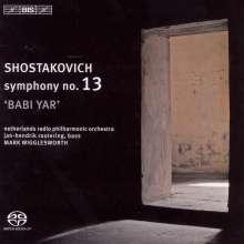 "Dimitri Schostakowitsch (1906-1975): Symphonie Nr.13 ""Babi Yar"", SACD"