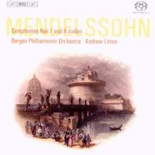 Felix Mendelssohn Bartholdy (1809-1847): Symphonie Nr.1, SACD