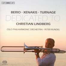 Luciano Berio (1925-2003): Solo für Posaune & Orchester, SACD