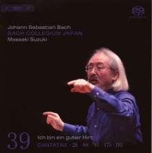 Johann Sebastian Bach (1685-1750): Kantaten Vol.39 (BIS-Edition), SACD