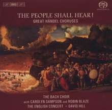 "Georg Friedrich Händel (1685-1759): Chöre ""The People Shall Hear!"", SACD"