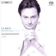 Johann Sebastian Bach (1685-1750): Cellosuiten BWV 1007,1010,1011 (arr.für Viola), SACD