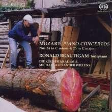 Wolfgang Amadeus Mozart (1756-1791): Klavierkonzerte Nr.24 & 25, SACD