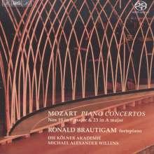 Wolfgang Amadeus Mozart (1756-1791): Klavierkonzerte Nr.19 & 23, SACD