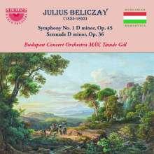 Julius Beliczay (1835-1893): Symphonie Nr. 1 d-moll op. 45, CD