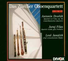 """Juraj Filas (geb. 1955): Oboenquartett """"Liebe gute Freiheit"""", CD"""