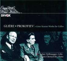 Serge Prokofieff (1891-1953): Sonate für Cello & Klavier op.119, CD