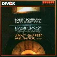 Robert Schumann (1810-1856): Klavierquintett op.44, CD