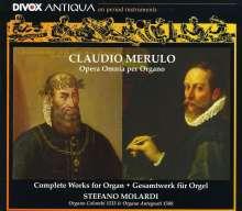 Claudio Merulo (1533-1604): Das Gesamtwerk für Orgel (Toccaten,Ricercari,Canzoni), 2 CDs