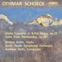 Othmar Schoeck (1886-1957): Violinkonzert B-dur op.21, CD