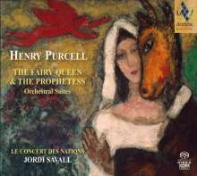 Henry Purcell (1659-1695): Suiten aus The Fairy Queen, SACD