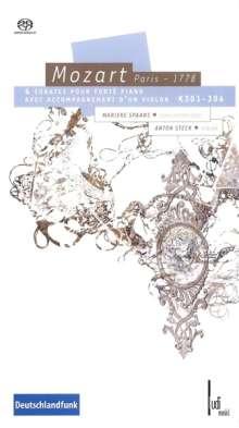 Wolfgang Amadeus Mozart (1756-1791): Sonaten für Violine & Klavier, 2 SACDs