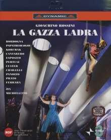 Gioacchino Rossini (1792-1868): La Gazza Ladra (Die diebische Elster), Blu-ray Disc
