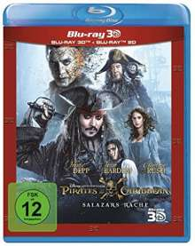 Pirates of the Caribbean: Salazars Rache (3D & 2D Blu-ray), 2 Blu-ray Discs