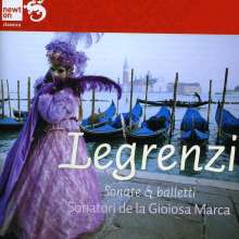 Giovanni Legrenzi (1626-1690): Sonate & Balletti, CD
