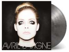 Avril Lavigne: Avril Lavigne (180g) (Limited-Numbered-Edition) (Silver/Black Mixed Vinyl), LP