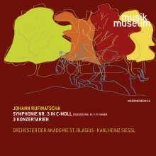 Johann Rufinatscha (1812-1893): Symphonie Nr. 3 c-moll, CD
