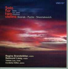 Robert Fuchs (1847-1927): 20 Duos für 2 Violinen, CD