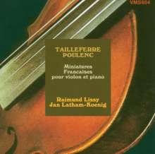 Raimund Lissy - Miniatures Francais, CD