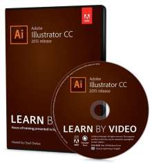Chad Chelius: Adobe Illustrator CC Learn by Video (2015 release), DVD-ROM