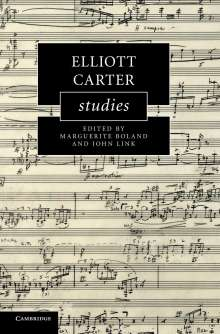 Elliott Carter Studies, Buch