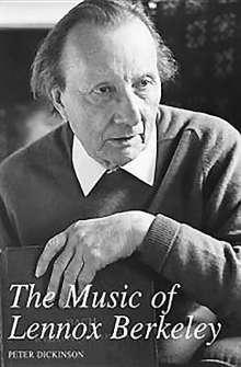 Peter Dickinson: The Music of Lennox Berkeley, Buch