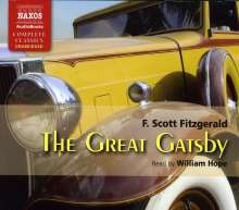 William Hope: Fitzgerald: The Great Gatsby, CD