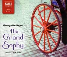 Georgette Heyer: The Grand Sophy, 4 Audio-CDs. Die drei Ehen der Grand Sophy, englische Ausgabe, 4 Audio-CDs, 4 CDs