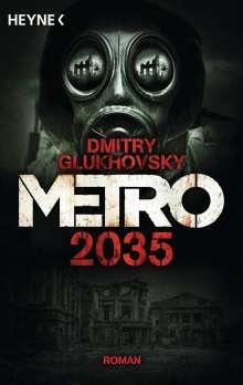 Dmitry Glukhovsky: Metro 2035, Buch
