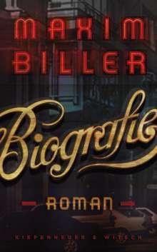Maxim Biller: Biografie, Buch