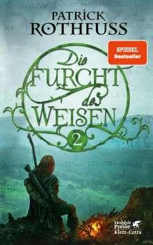 Patrick Rothfuss: Die Furcht des Weisen 02, Buch