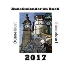 Pierre Sens: Kunstkalender im Buch - Düsseldorf 2017, Buch