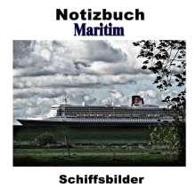 Pierre Sens: Notizbuch Maritim - Schiffsbilder, Buch