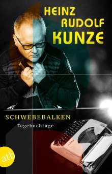 Heinz Rudolf Kunze: Schwebebalken, Buch