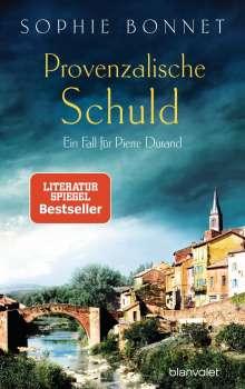 Sophie Bonnet: Provenzalische Schuld, Buch