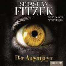 Sebastian Fitzek: Der Augenjäger, 4 CDs